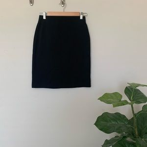 Old Navy Pull On Black Pencil Career Skirt
